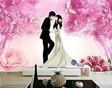 Fototapete 3D Effekt Tapete Mode Für Romantische