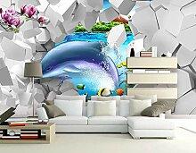 Fototapete 3D Effekt Tapete Mode Unterwasser Welt