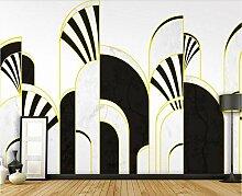 Fototapete 3D Effekt Tapete Moderner Luxus Mit