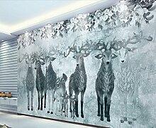 Fototapete 3D Effekt Tapete Nordische Erinnerung