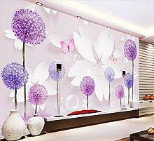 Fototapete 3D Effekt Tapete Romantische Dandelion