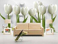 Fototapete 3D Effekt Tapete Romantische weiße