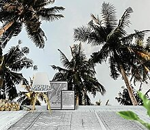 Fototapete 3d Effekt Tapete Tropische Pflanze