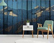 Fototapete 3D Effekt Tapeten Abstrakte Bergkette