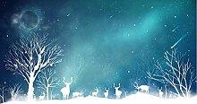 Fototapete 3d Effekt Tapeten Blaue Sternenklare