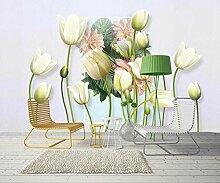 Fototapete 3d Effekt Tapeten Elegante Tulpenblume