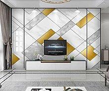 Fototapete 3d Effekt Tapeten Goldene Graue Moderne