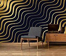 Fototapete 3d Effekt Tapeten Moderne Helle Goldene