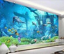 Fototapete 3D Effekt Tapeten Unterwasserwelt