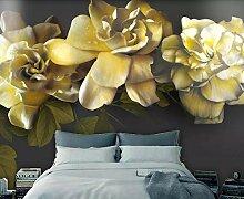 Fototapete 3D Effekt Tapeten Vintage Gardenie Mit