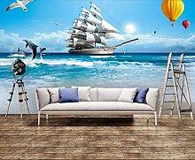 Fototapete 3D Effekt Vlies Tapete Wohnzimmer Mit