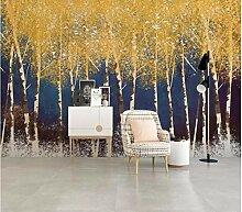 Fototapete 3D Effekt Vlies Wand Tapete Goldenes