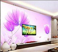 Fototapete 3D Effekt Vliestapete Blumenbild Tapete