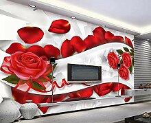 Fototapete 3D Effekt Vliestapete Blumenblüten