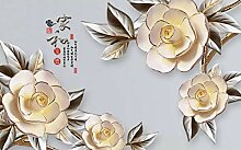 Fototapete 3D Effekt Vliestapete Chinesische