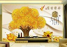 Fototapete 3D Effekt Yuanbao