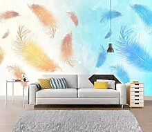 Fototapete 3D Feder Moderne Wandbilder Vliestapete