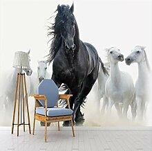 Fototapete 3d fototapeten kunst schwarz weiß