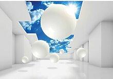Fototapete 3D Geometrie Papier 3 m x 460 cm