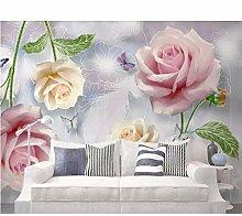 Fototapete 3d Geprägte Blumen Tapeten für