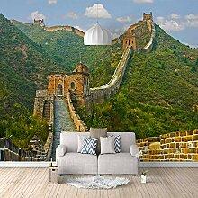 Fototapete 3D Große Mauer Der Berge 3D Wandbilder