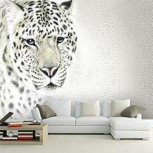 Fototapete 3D lebensechte Tiere Leopard für