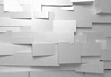 Fototapete 3D-Mauer 254 cm x 366 cm 8-tlg. East