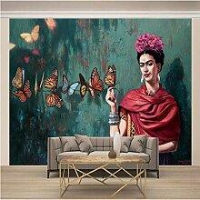 Fototapete 3D Mexikanische Malerin Frida Kahlo
