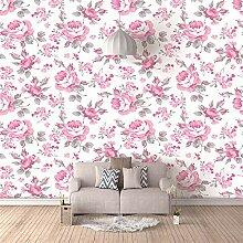 Fototapete 3D Pastorale rosa Blüten