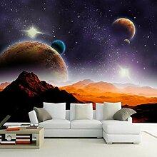 Fototapete 3D Planet Universum 3D Wandbild