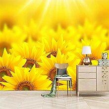 Fototapete 3D Sonnenblume Moderne Vlies Tapete