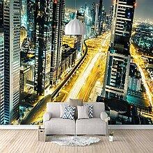 Fototapete 3D Stadt 3D Wandbilder Für Fernseher
