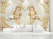 Fototapete 3D Tapete Europäischer Engel Mit