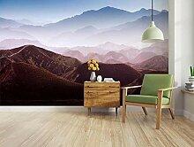 Fototapete 3D Tapete Ferne Berglandschaft Mit