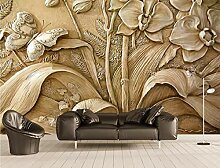 Fototapete 3D Tapete Geprägte Orchidee