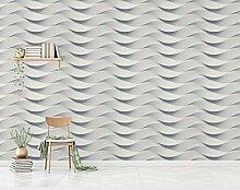 Fototapete 3D Tapete Geprägte Weiße