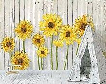 Fototapete 3D Tapete Handgemalte Gelbe Sonnenblume