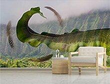 Fototapete 3D Tapete Kunst - Aquarell Einfache