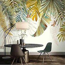Fototapete 3D Tapete Wandbild Nordische Pflanze