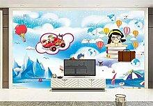 Fototapete 3D Tapete Wandbilder Cartoon