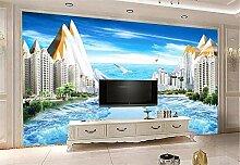 Fototapete 3D Tapete Wandbilder Zimmer Mit