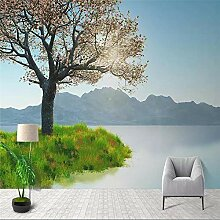 Fototapete 3D Tapeten 3D Effekt Wohnzimmer