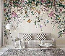 Fototapete 3D Tapeten Aquarell Schmetterlingsrebe
