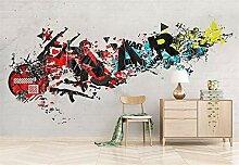 Fototapete 3D Tapeten Wandbilder Abstrakt Modern