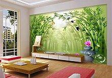 Fototapete 3D Tapeten Wandbilder Bambus