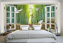 Fototapete 3D Tapeten Wandbilder Bambuswald