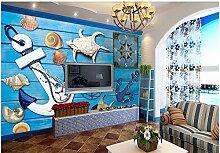 Fototapete 3D Tapeten Wandbilder Blaues