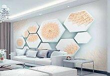Fototapete 3D Tapeten Wandbilder Blume verlässt