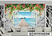 Fototapete 3D Tapeten Wandbilder Dreidimensionales