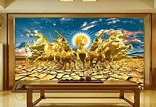 Fototapete 3D Tapeten Wandbilder Garten